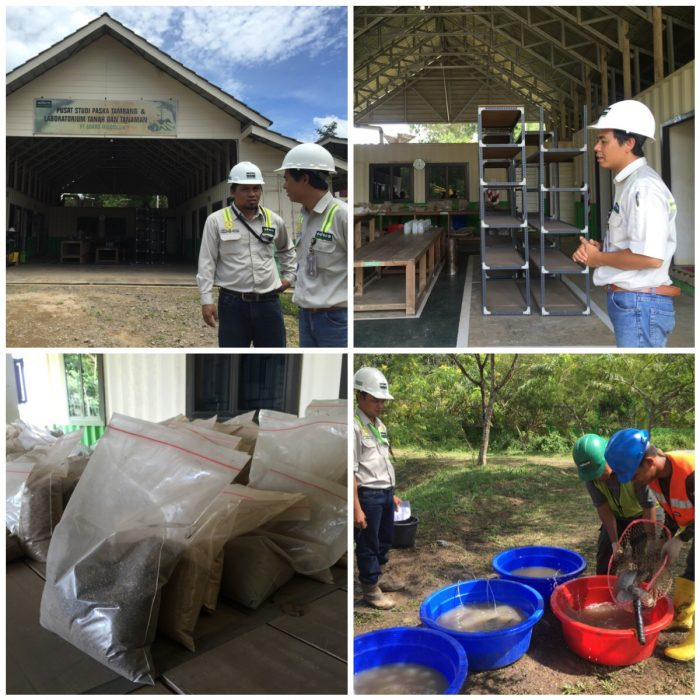 Kunjungan ke Pusat studi Paska Tambang & lab Tanah dan Tanaman di Paringin